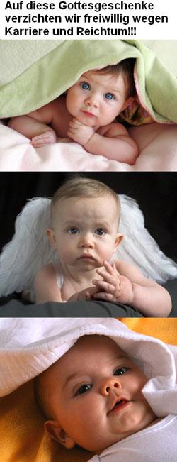 angetrunken baby betreuen