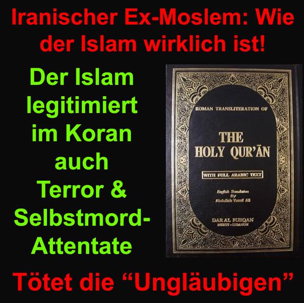 Der Folgende Hochinteressante Aufsatz Des Iranischen Ex Moslems Mehrdad Stammt Noch Aus Der Zeit In Der Nadeem Elyas Vorsitzender Des Zentralrats Der